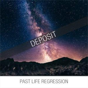 past life regression session deposit