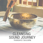 cleansing sounnd journey